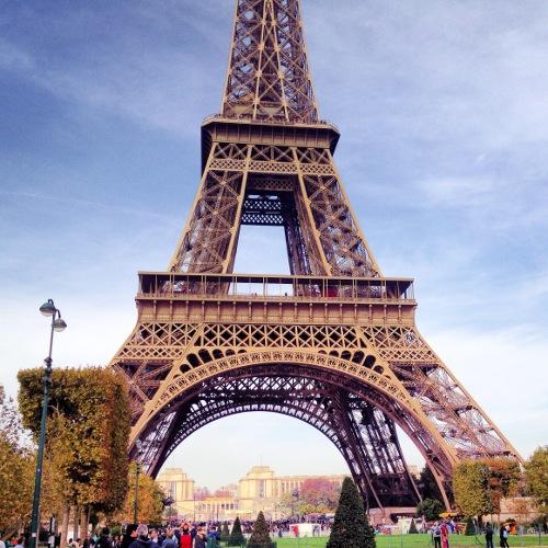 Paris Vorschau Eiffelturm