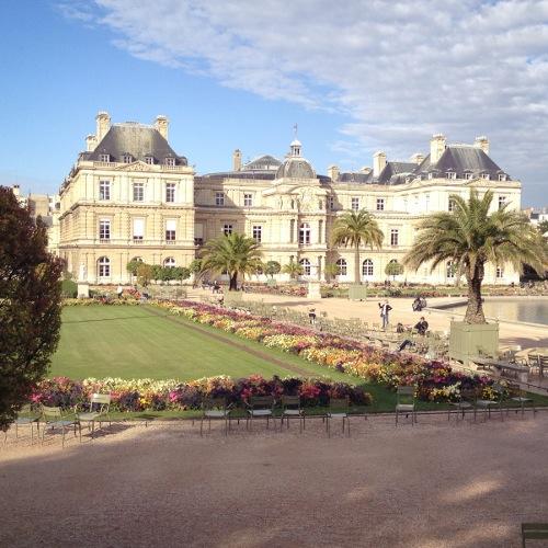 Paris Vorschau Jardin du Luxembourg