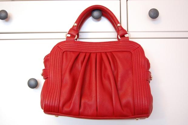 Rote Zara Tasche