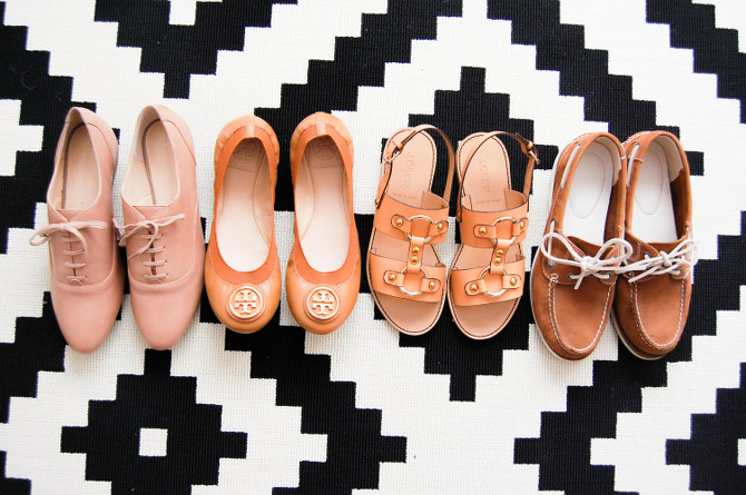 Schuhe für Frühling und Sommer