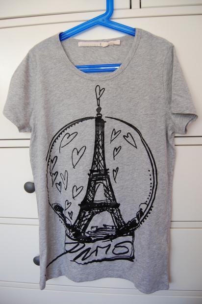 Schumacher T-Shirt mit Paris Print aus dem Wertheim Village Outlet