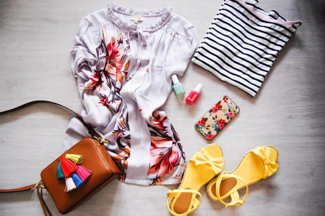 Shopping für den Frühling