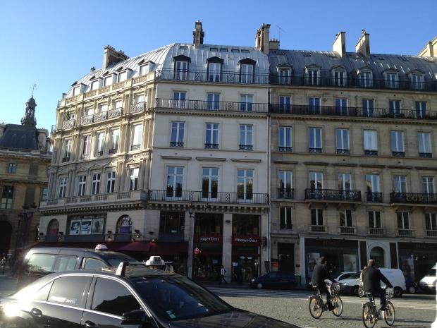Sparziergang durch Paris