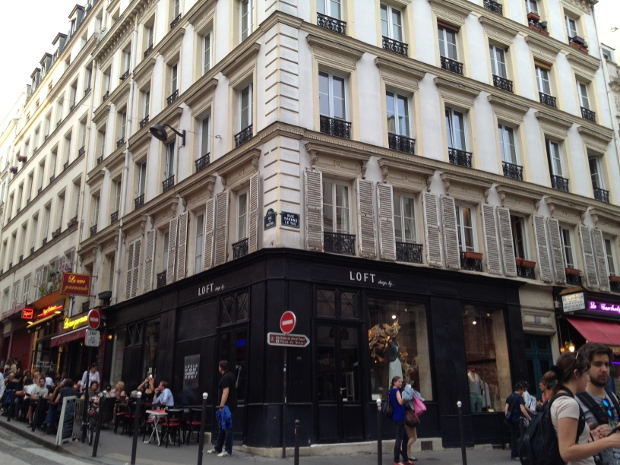 Strassencafés in Paris