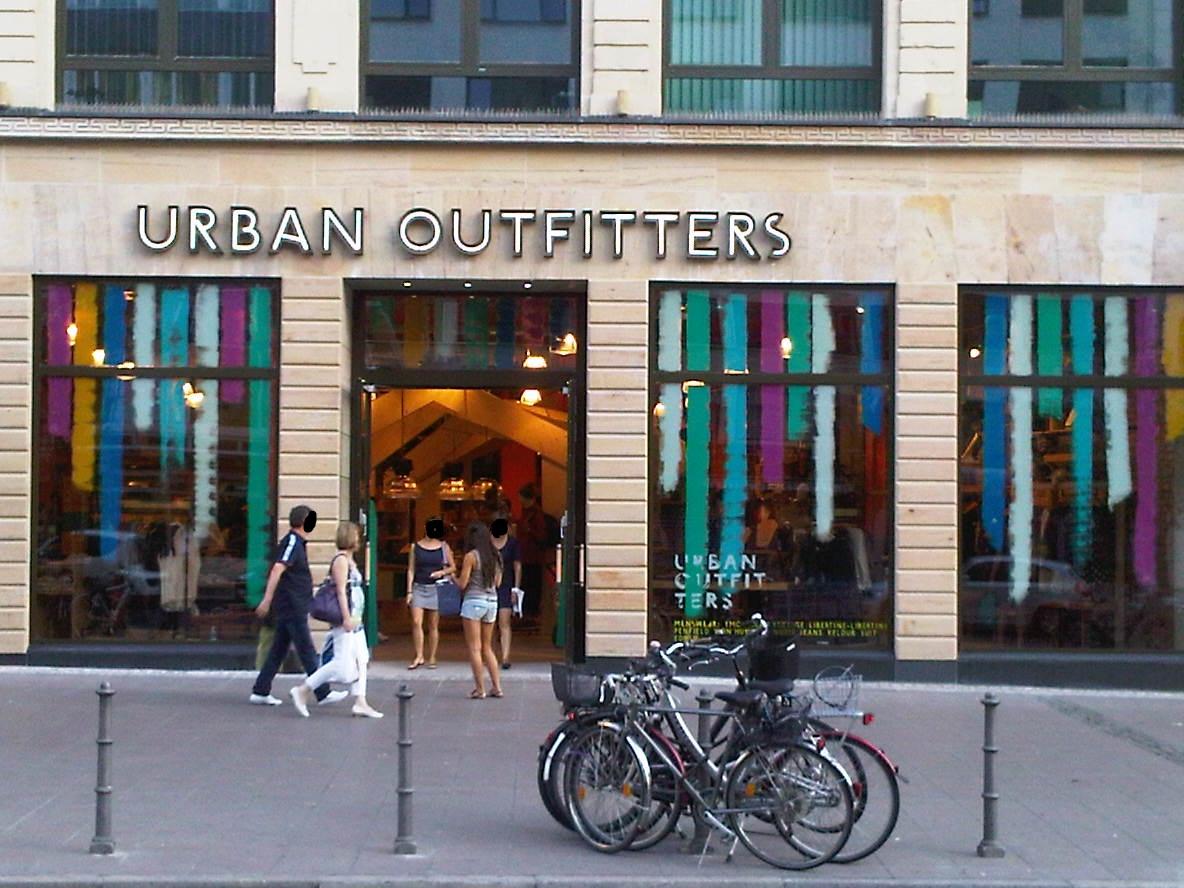 Urban Outfitters Filiale in Frankfurt