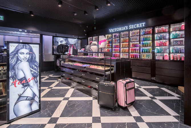 Victoria's Secret Frankfurt - Einblick in den Laden