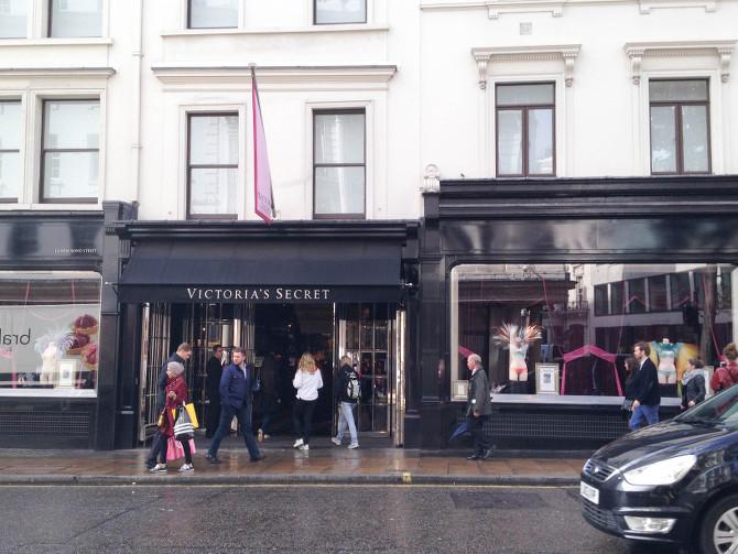 Victoria's Secret eröffnet in Frankfurt