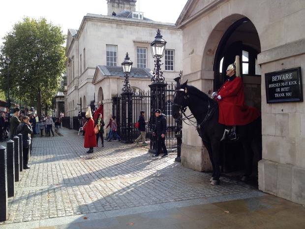 Wachmänner in London