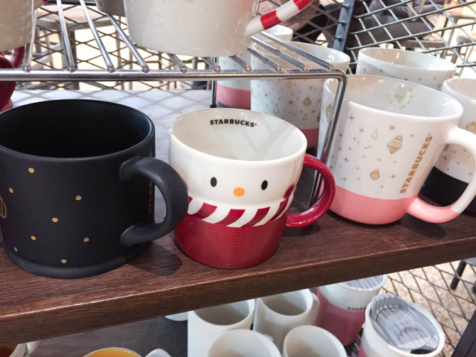 Weihnachtstassen Starbucks 2016