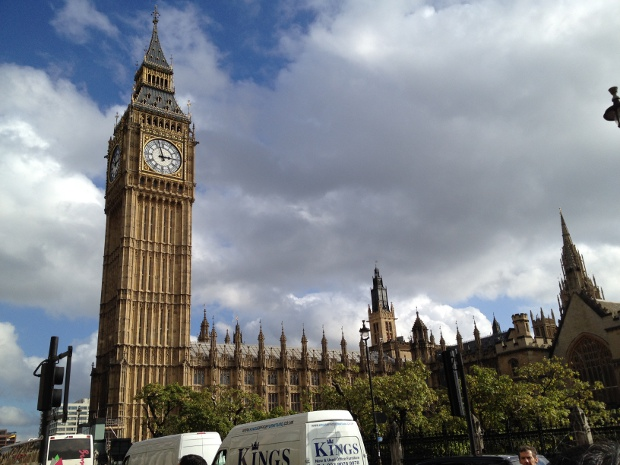 Westminster und Big Ben in London