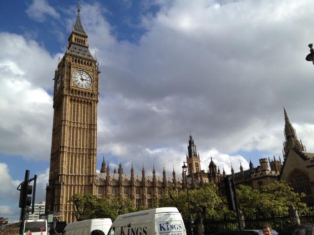 Westminster und Big Ben in London