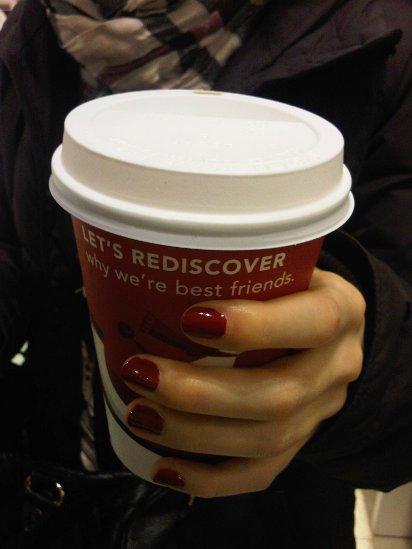Winterbecher von Starbucks