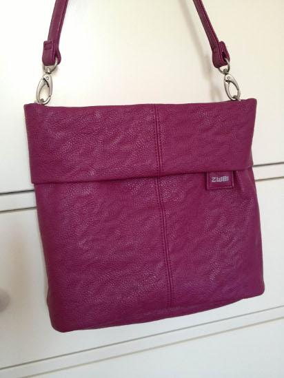 Zwei Tasche Mademoiselle M8 in berry